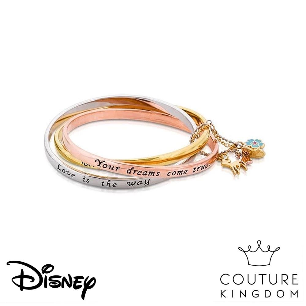 Disney Jewellery by Couture Kingdom 小鹿斑比層次墜飾手環