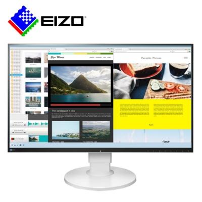 EIZO FlexScan EV2780白色27吋TypeC輸入/薄邊框/低閃頻16:9
