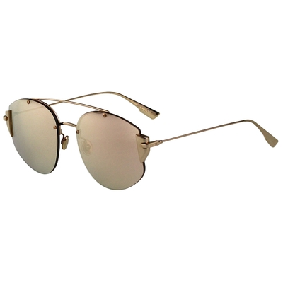 Dior 水銀面 太陽眼鏡(玫瑰金)STRONGER-J5G