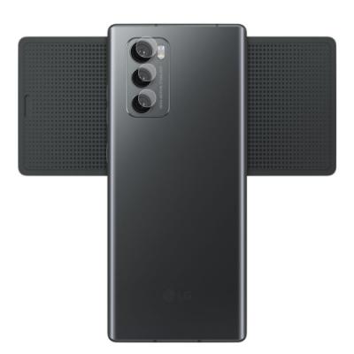 o-one小螢膜 LG Wing 5G 犀牛皮鏡頭保護貼 (一組兩入)