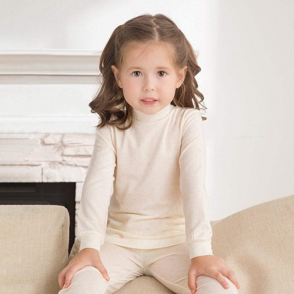 奇哥 功能布印花高領衫-美膚保暖纖維 2-4歲 (2色選擇)