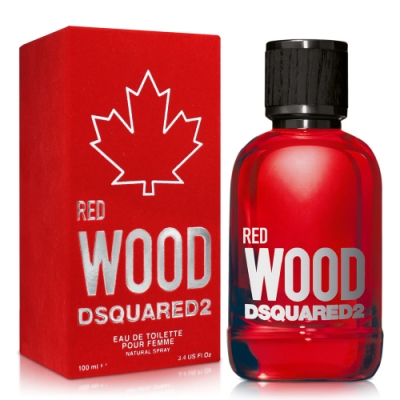DSQUARED2 RED WOOD 心動紅女性淡香水100ml