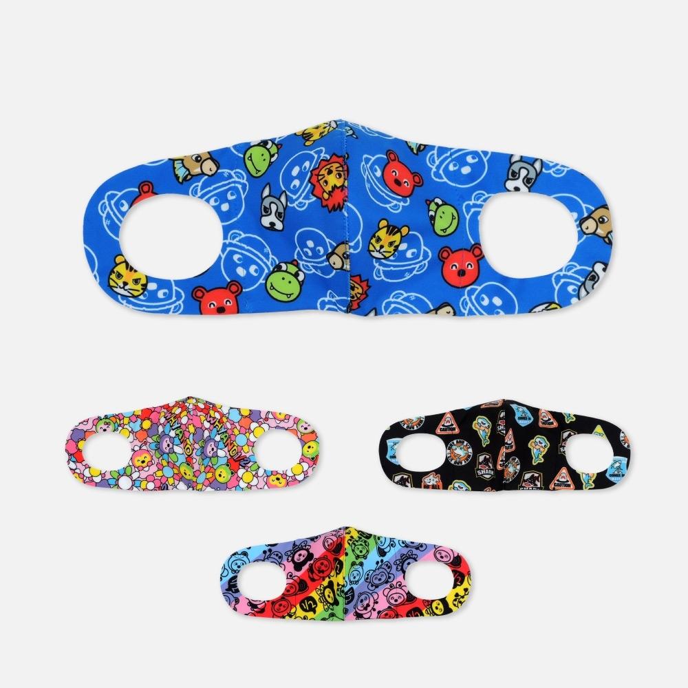 WHY AND 1/2 一體成形立體兒童口罩-抗菌防紫外線 多色可選