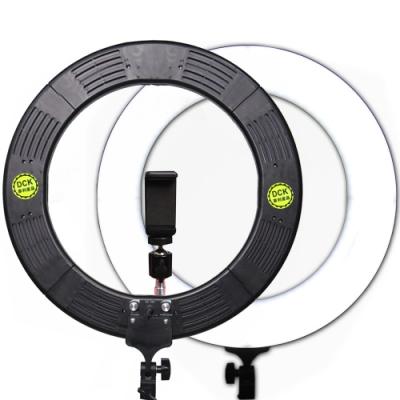 YADATEK 14吋可調色溫可調光超薄LED環形攝影燈(YR-600A)