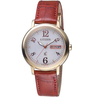 CITIZEN xC 魅力綻放光動能腕錶(EW2422-12A)-32mm
