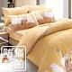 鴻宇 美國棉100%精梳棉 防蟎抗菌 歡樂熊 黃 單人三件式薄被套床包組 product thumbnail 1