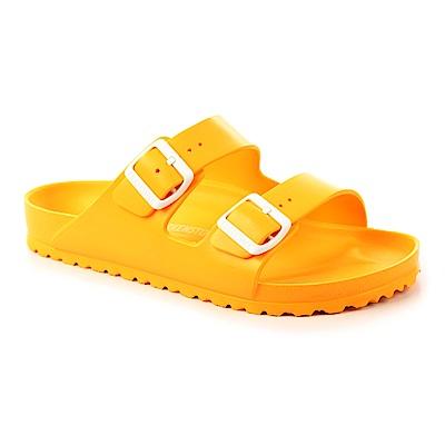 勃肯BIRKENSTOCK1003510亞利桑那 EVA經典二條拖鞋(黃)