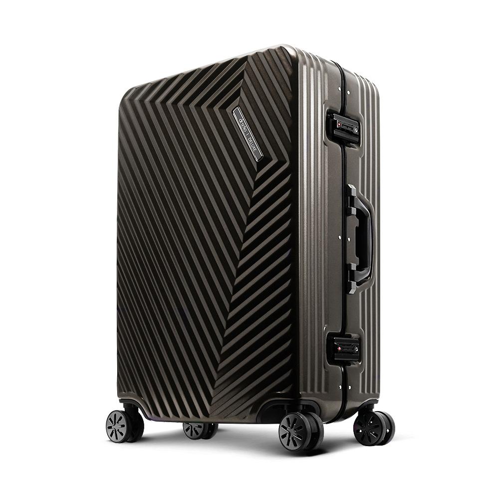 Deseno索特典藏II 28吋細鋁框行李箱-鈦灰(雅虎獨家)