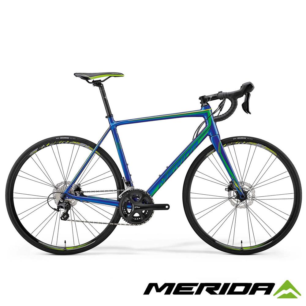 《MERIDA》美利達跑車 SCULTURA斯特拉 DISC 400 藍 2018