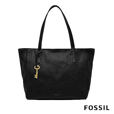 FOSSIL EMMA TOTE BLACK 托特包-黑
