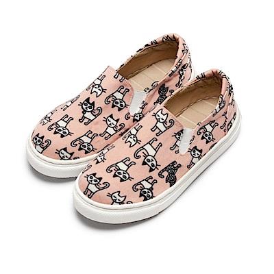 BuyGlasses 粉嫩貓咪童款懶人鞋-粉