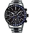 (無卡分期24期)SEIKO 精工 Astron 5X53 雙時區 陶瓷鈦金屬GPS衛星定位錶