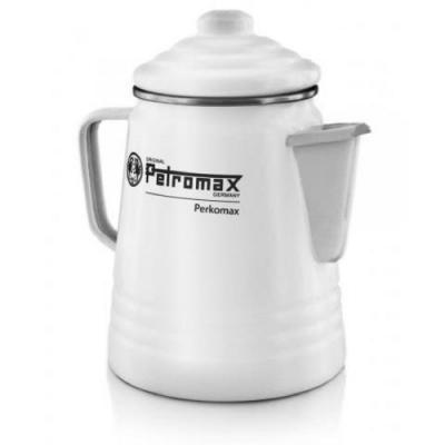Petromax Perkomax 琺瑯咖啡壺9杯份 白