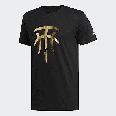 adidas T恤 T-Mac Logo T 籃球運動 男款