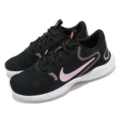 Nike 慢跑鞋 Flex Experience Run 女鞋 輕量 透氣 舒適 避震 路跑 健身 黑 粉 CD0227006