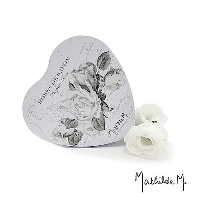 Mathilde M 法國瑪恩 愛情玫瑰香水皂禮盒(5g X 9朵花)
