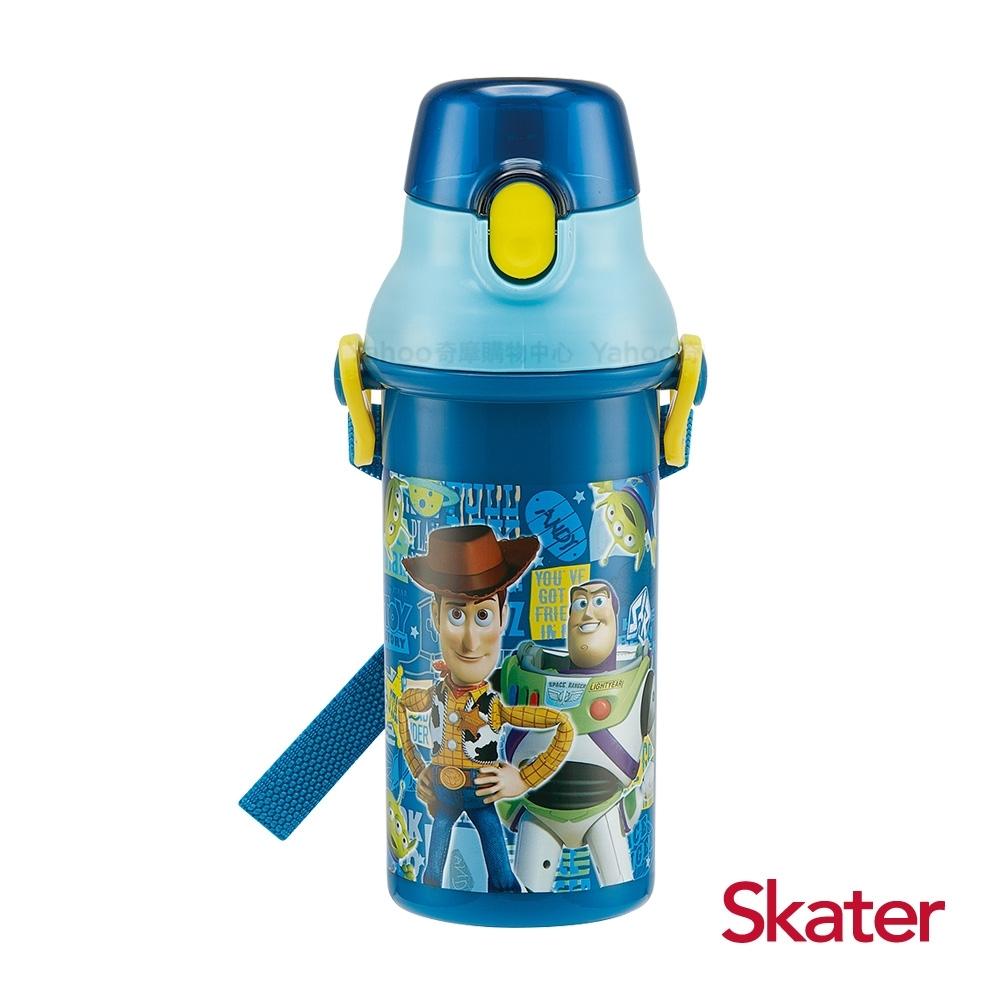 Skater直飲480ml冷水壺 玩具總動員-藍