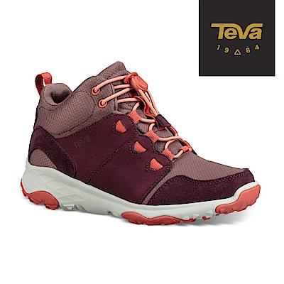 TEVA 童 Arrowood 2 WP 中筒休閒鞋 梅紅