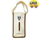 安伯特 法鬥犬掛式面紙套 卡通圖案 車用/家用/辦公室通用面紙套