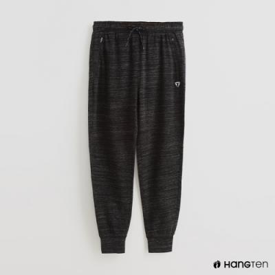 Hang Ten - 男裝 -ThermoContro-腰部鬆緊抽繩休閒長褲-灰