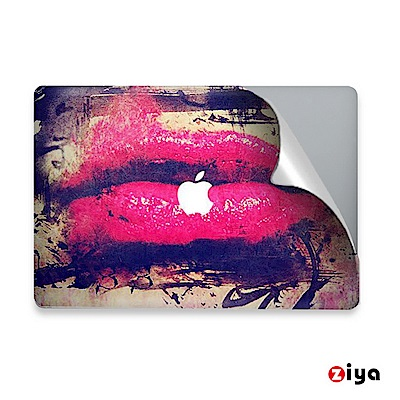 [ZIYA X SKINAT] MacBook 13吋與眾不同機身上蓋保護貼膜 戀戀紅唇