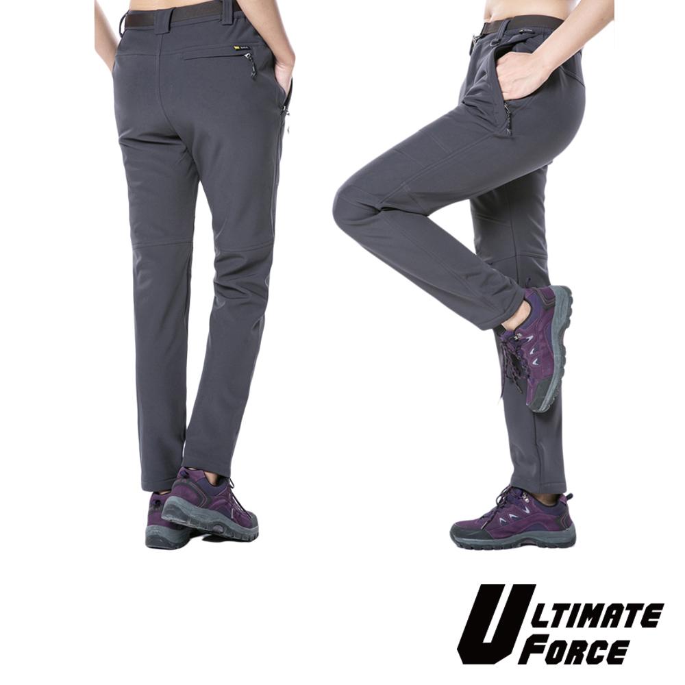 Ultimate Force「動力」女款軟殼保暖工作褲-灰色
