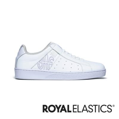 ROYAL ELASTICS Icon Genesis 紫白真皮運動休閒鞋 (女) 91901-060