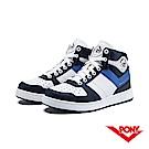 【PONY】City Wings 系列-復古籃球鞋款-男-藍