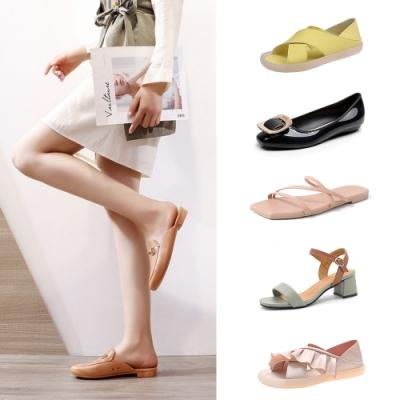 [時時樂限定]KEITH-WILL時尚鞋館-甜心獨家燦爛好評美腿女鞋組(6款可選)