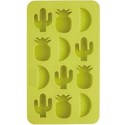 《KitchenCraft》12格造型製冰盒(綠)