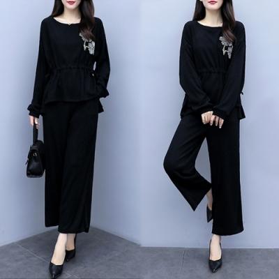 【韓國K.W.】唯美星空美型時尚套裝-2色