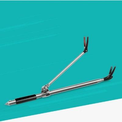 現貨供應 2.1米 304不鏽鋼 支架砲台 釣竿支架 釣箱配件 釣具