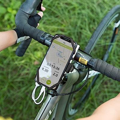 【Bone】單車龍頭手機雙用綁 Bike Tie Pro-Pack-黑
