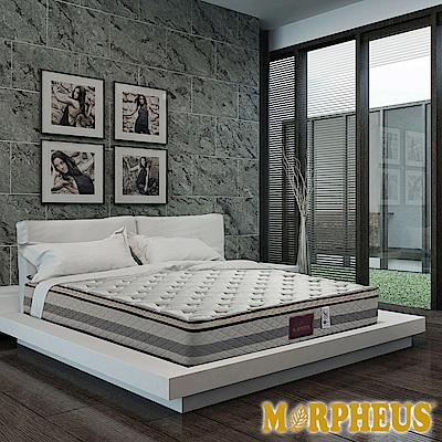 夢菲思 真三線針織+乳膠+記憶膠蜂巢式獨立筒床墊-雙人加大6尺