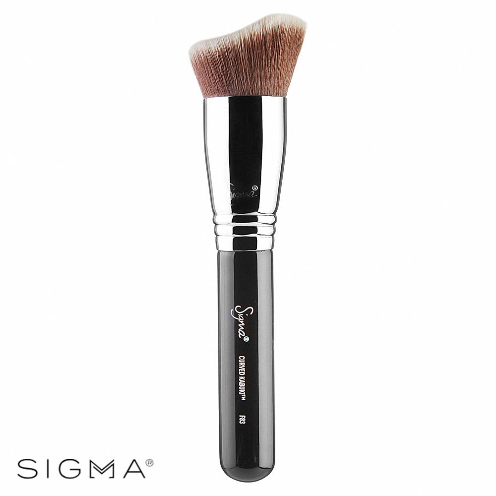 Sigma F83-曲線粉底刷修容刷 Curved Kabuki Brush
