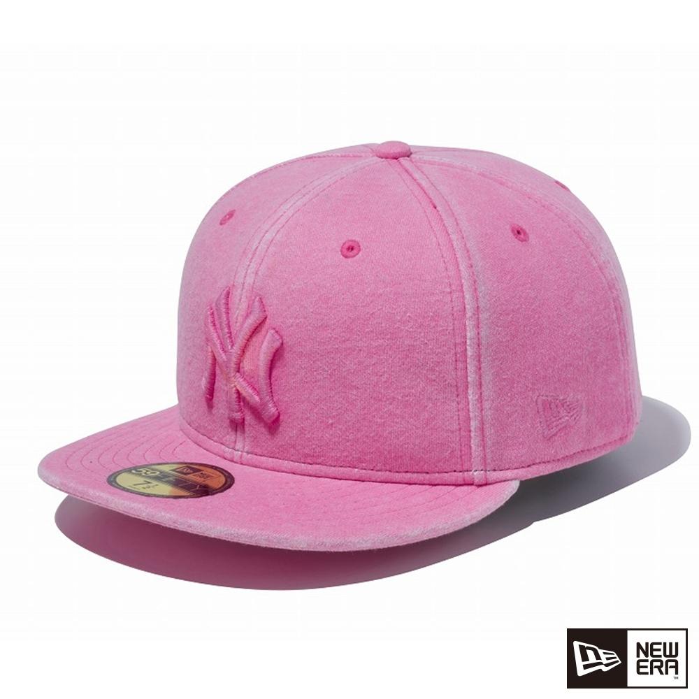 NEW ERA 59FIFTY SWEAT ITALIAN WASH洋基 粉紅 棒球帽
