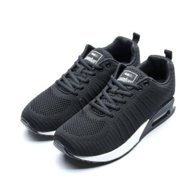 COMBAT艾樂跑男鞋-針織時尚氣墊運動鞋-黑(22553)