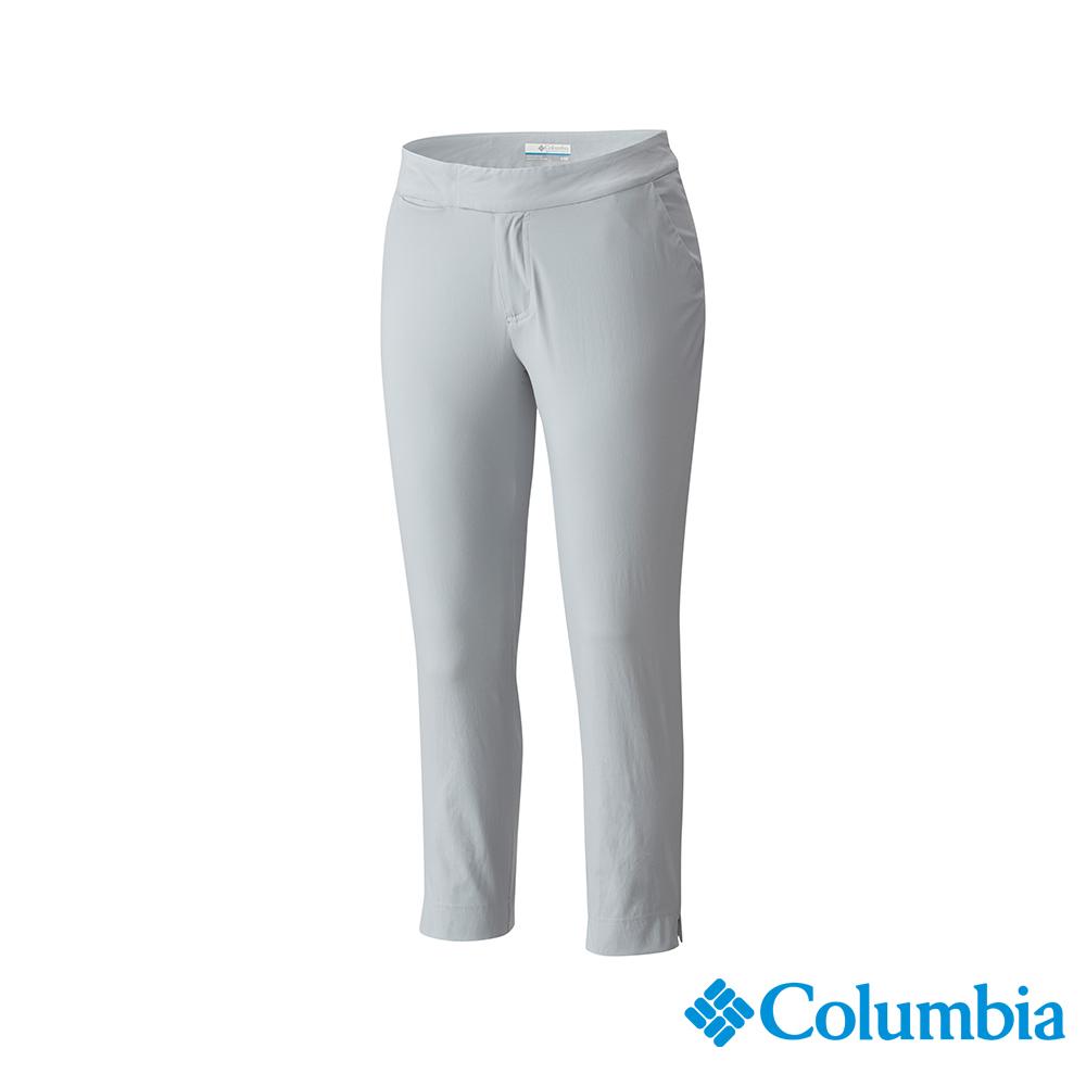 Columbia 哥倫比亞 女款-UPF50 防潑長褲-灰色 UFK00040GY