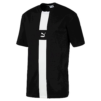 PUMA-男性流行系列PUMA XTG短袖T恤-黑色-歐規