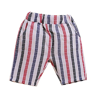 格紋休閒短褲 k50308 魔法Baby