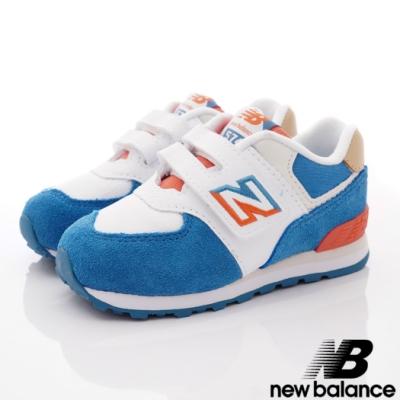 NewBalance 574機能運動鞋款 SCF藍色(小童段)