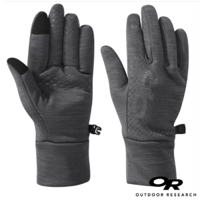 Outdoor Research 女 Vigor Heavyweight Sensor Gloves 加厚刷毛保暖手套_觸控手套_灰