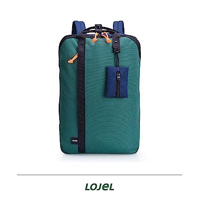 LOJEL TAGO 松綠色  輕旅行 後背包 筆電包 旅行袋