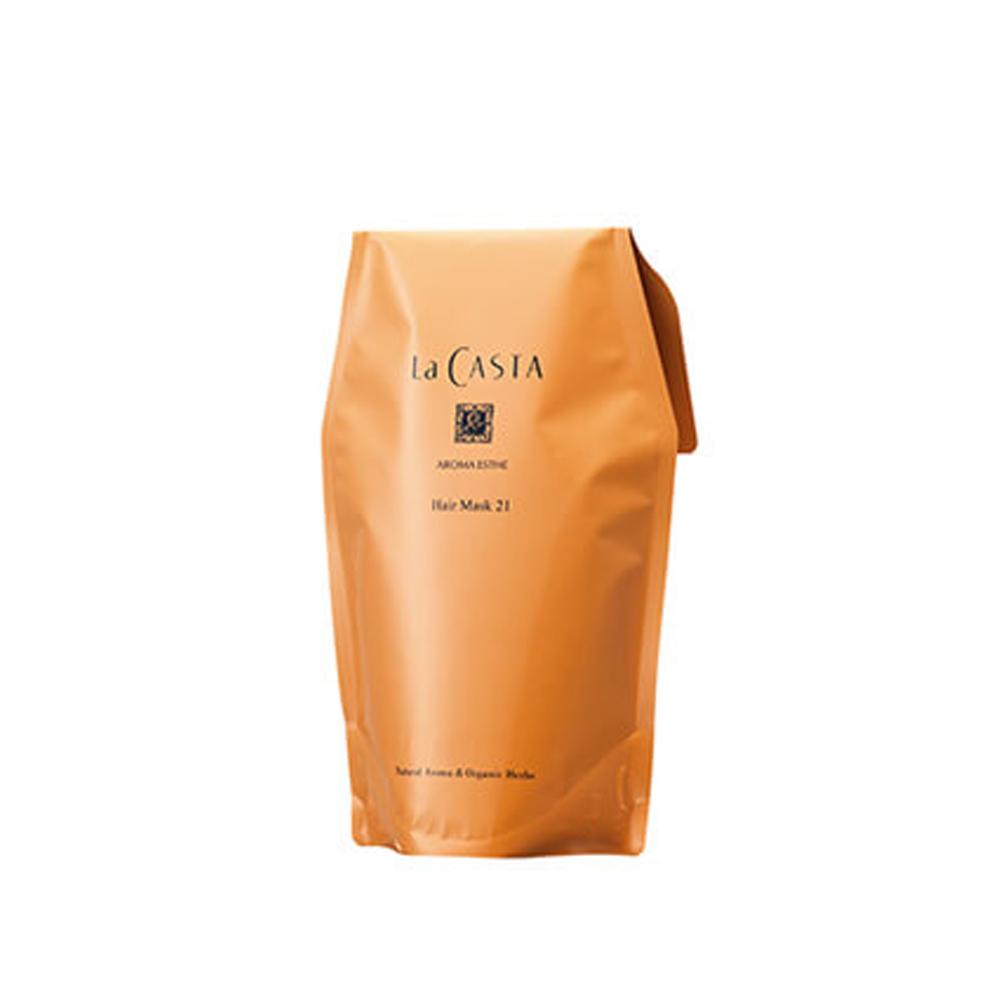 La CASTA蕾珂詩 沙龍級柔順護髮膜 環保補充包#21保濕型 600g @ Y!購物