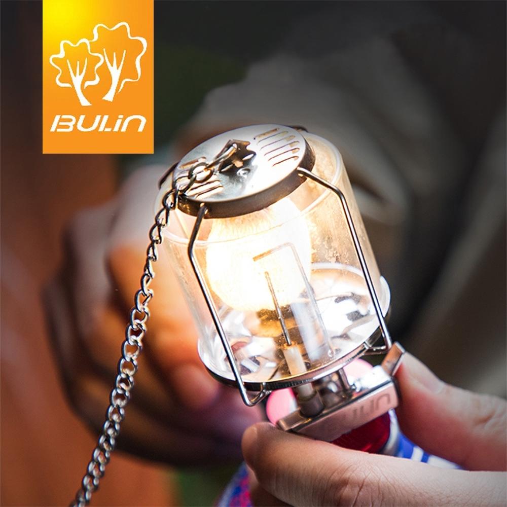 【索樂生活】步林玻璃罩汽化照明燈附轉接頭燈紗蕊.自動電子點火卡式瓦斯迷你取暖氣氛吊掛燈具