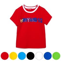 WHY AND 1/2 mini 棉質萊卡T恤 2Y~4Y 多色可選