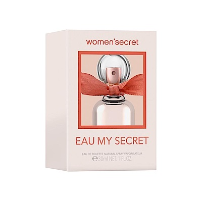 WOMEN SECRET EAU MY SECRET祕密花園女性淡香水30ml