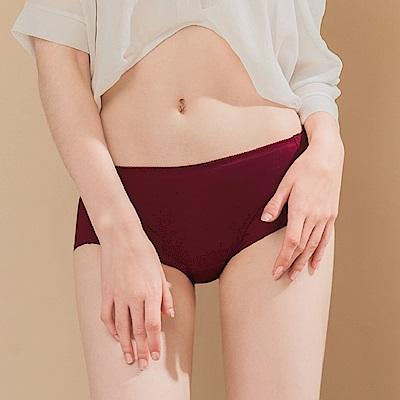 無痕透氣超健康竹炭包臀中腰M-XL內褲 永恆熱戀 可蘭霓Clany