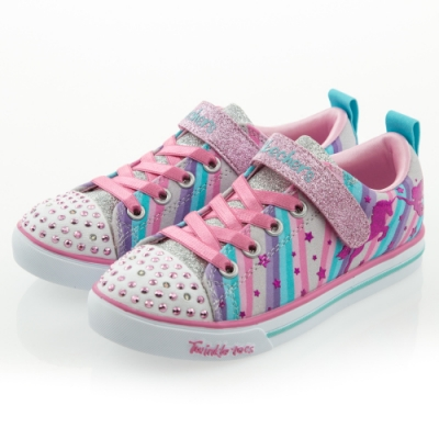 SKECHERS 女童系列 燈鞋SPARKLE LITE - 20275LGYMT