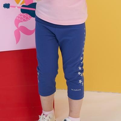 麗嬰房 【EASY輕鬆系列】 女童海盜樂園星星七分內搭褲  (76cm~130cm)